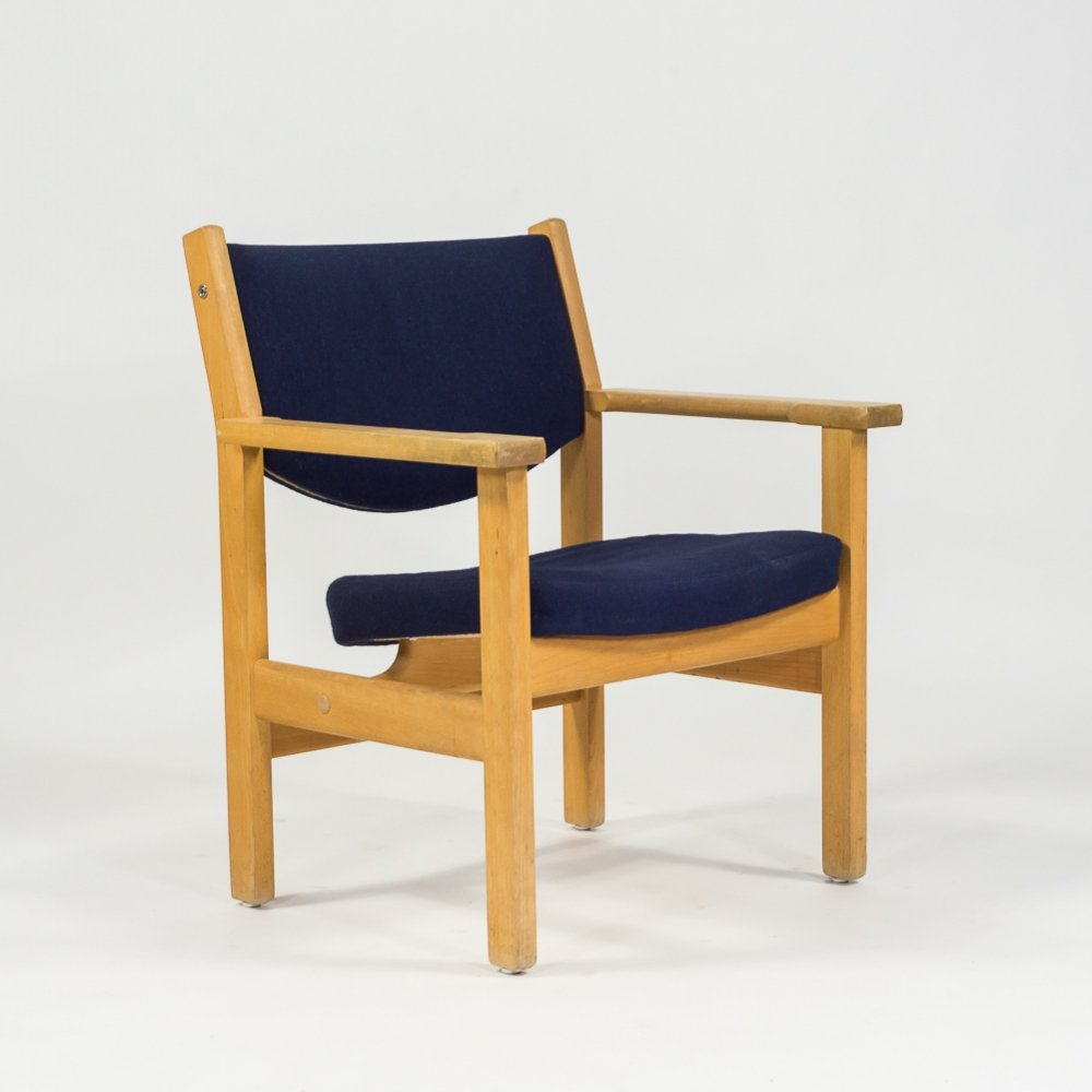 Lounge chair by Hans Wegner for Getama, 1970s