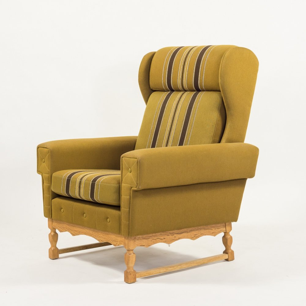 Svend Skipper high back armchair, 1960