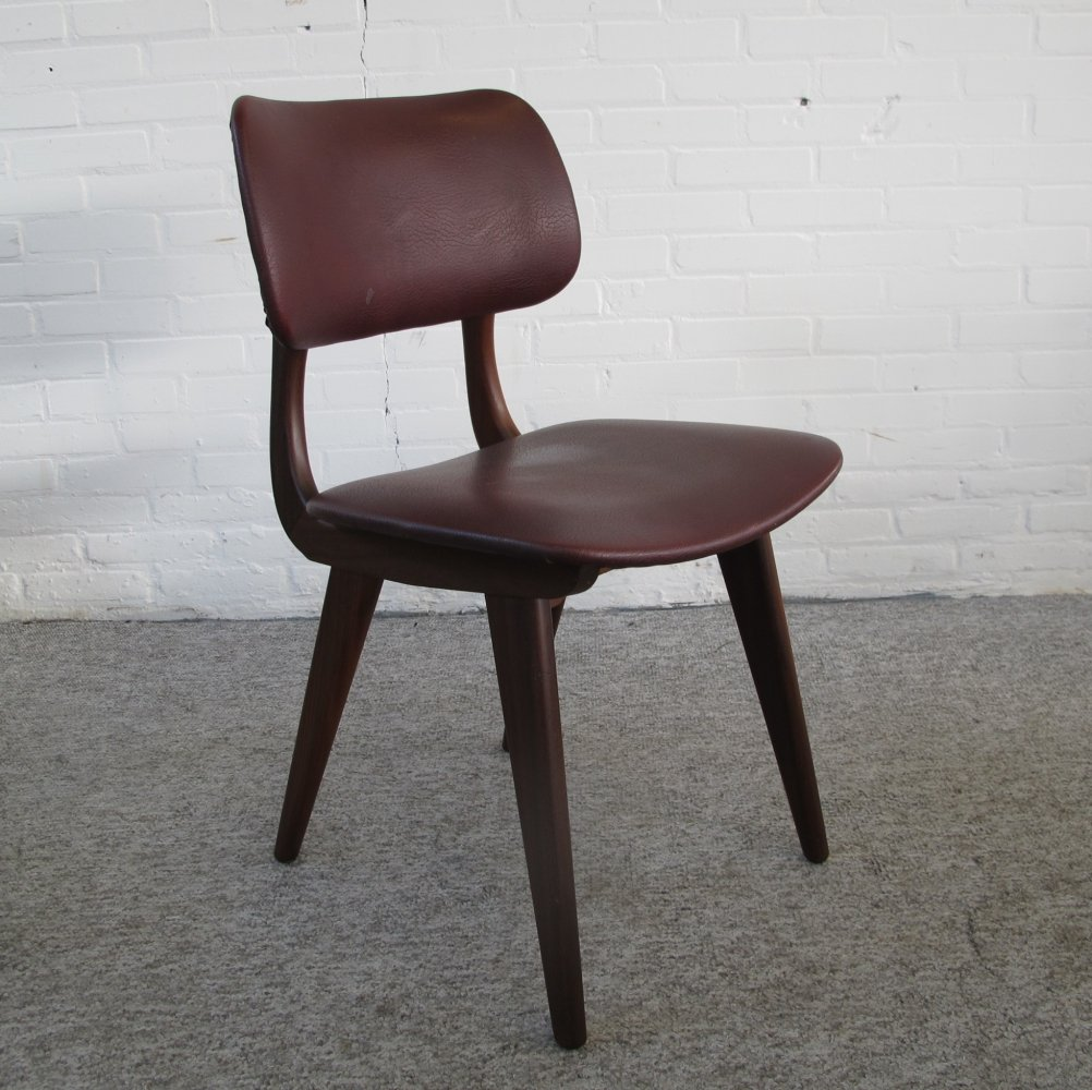 Dining chair by Louis van Teeffelen for Webe, 1950s