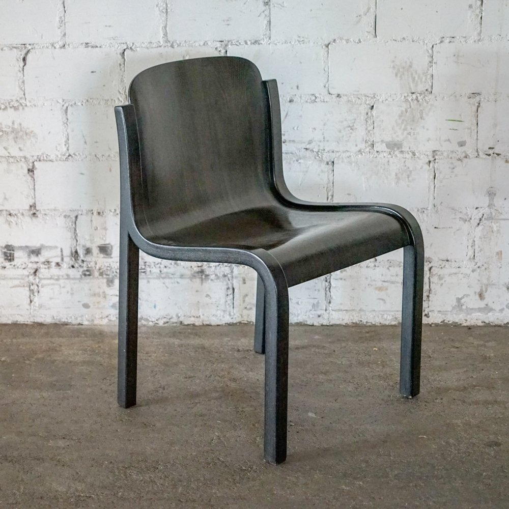 3 x Mito dining chair by Carlo Bartoli for Tisettanta, 1960s