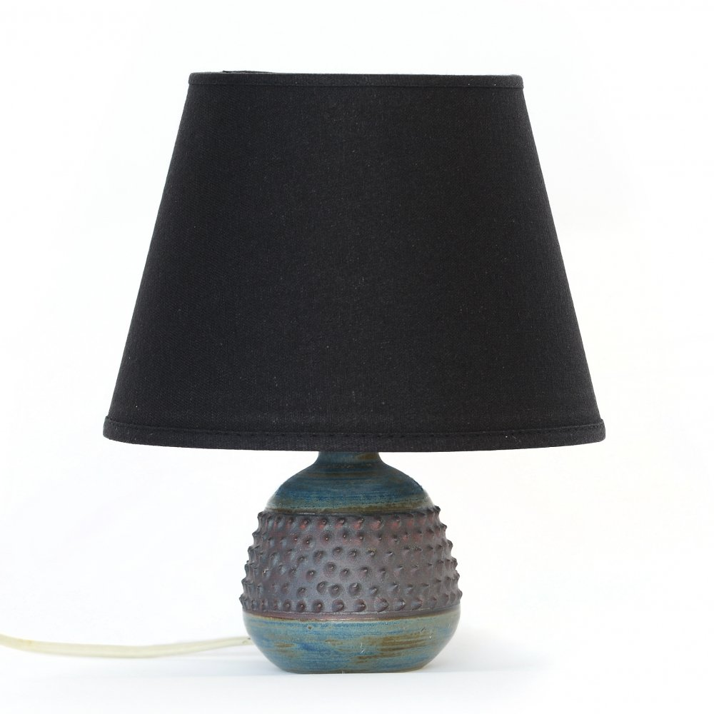 Stoneware table lamp by Rolf Palm, Sweden 1960s