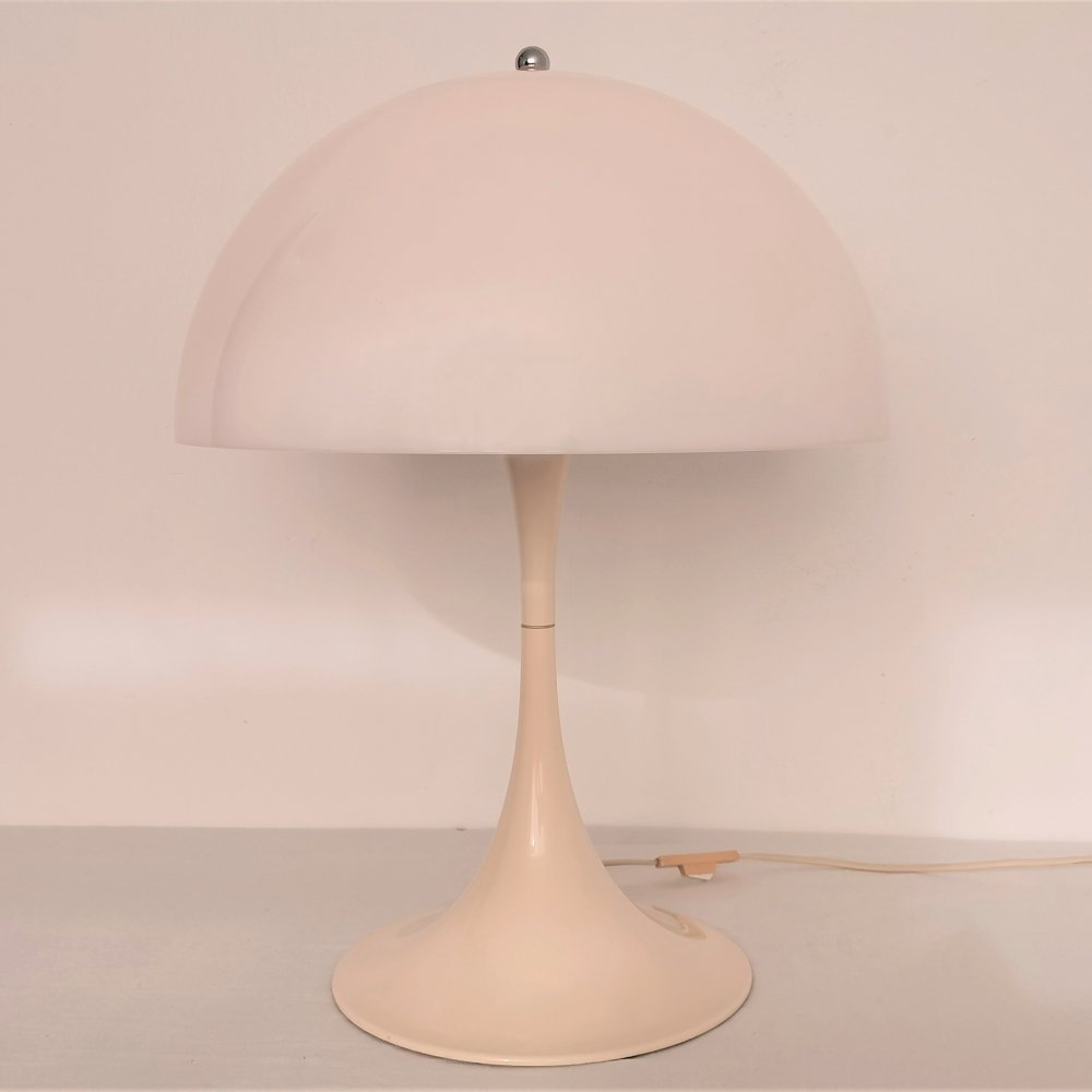 Medium Size Panthella Table Lamp by Verner Panton