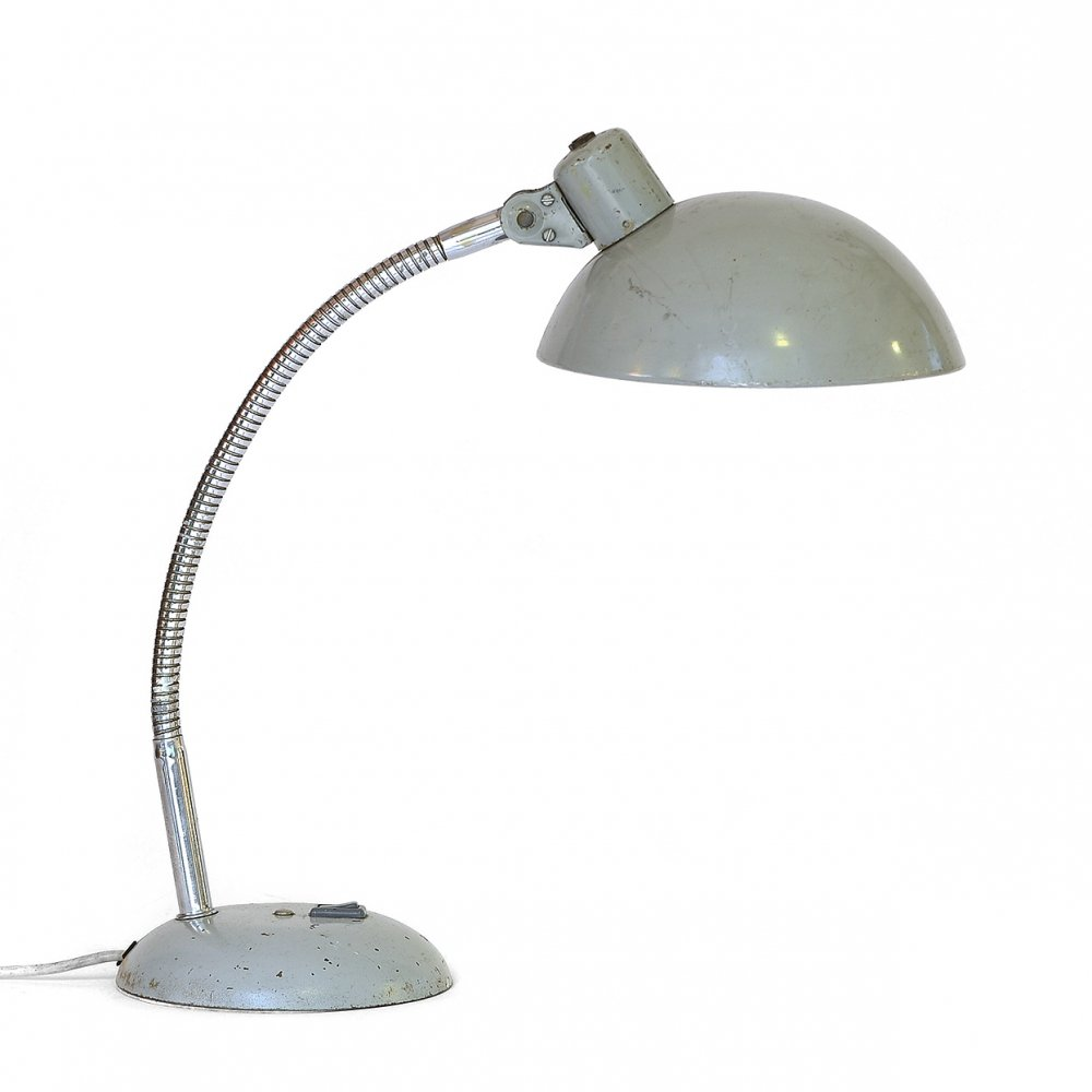 Mid century industrial desk lamp, France 1950s