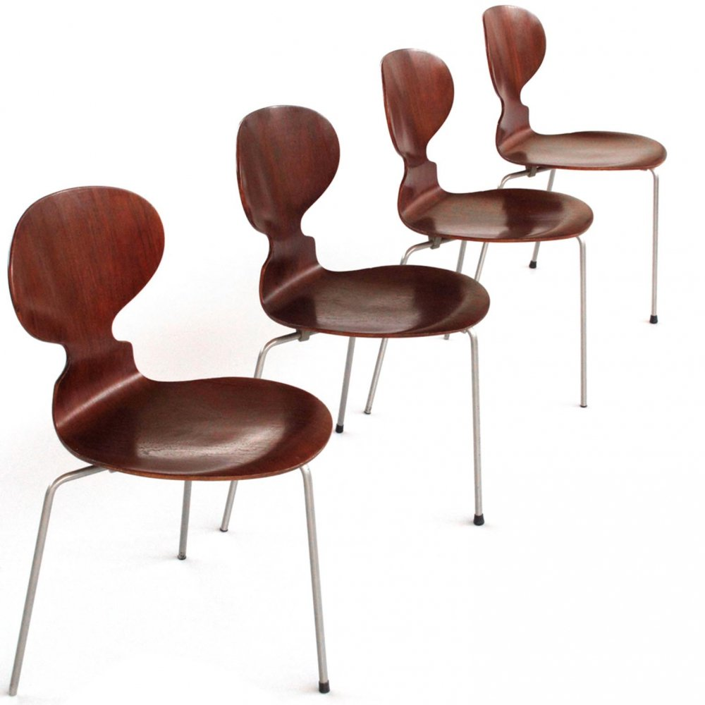 1st edition The Ant (model No 3100) chair by Arne Jacobsen for Fritz Hansen, 1950s
