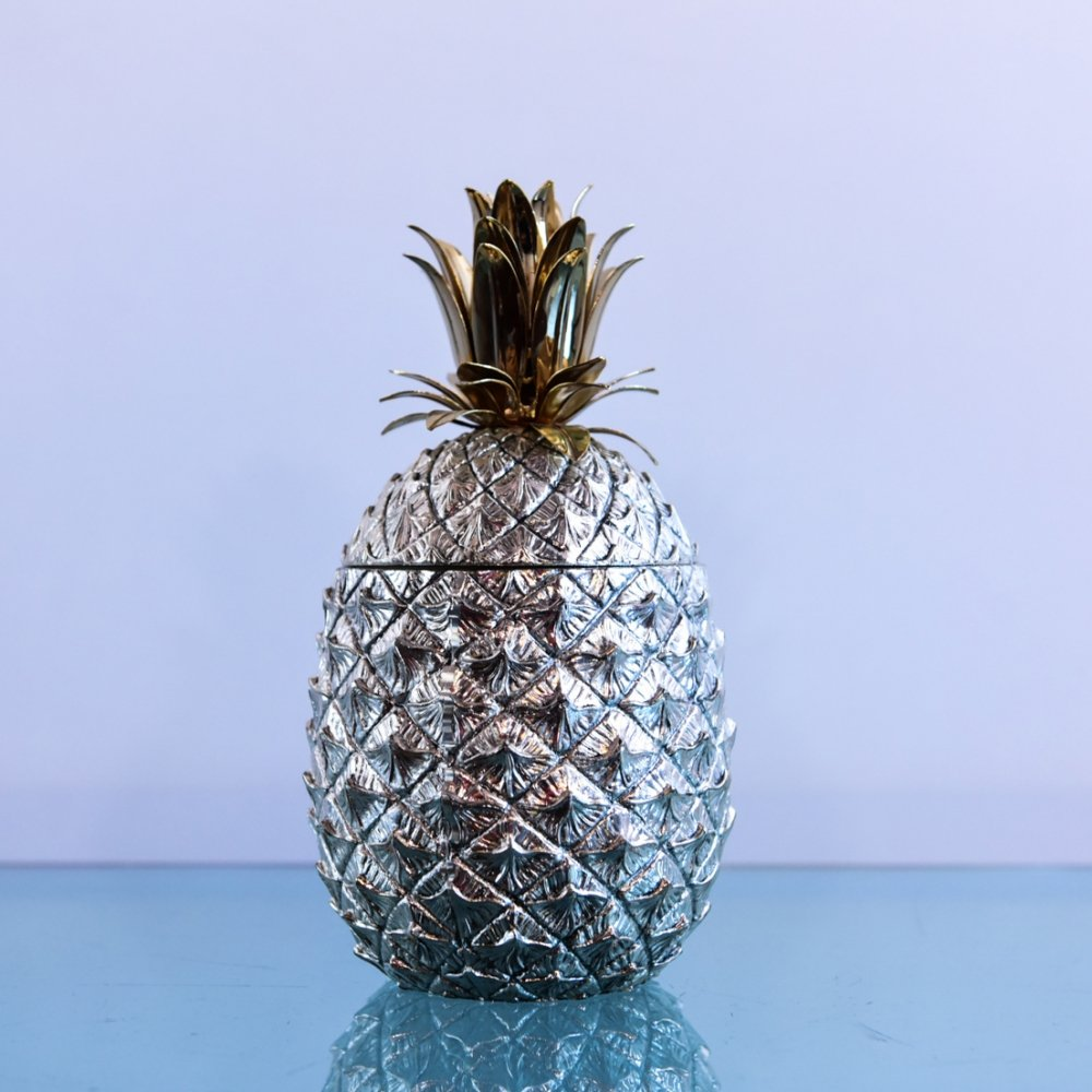 Pineapple ice bucket by Mauro Manetti for Fonderia d