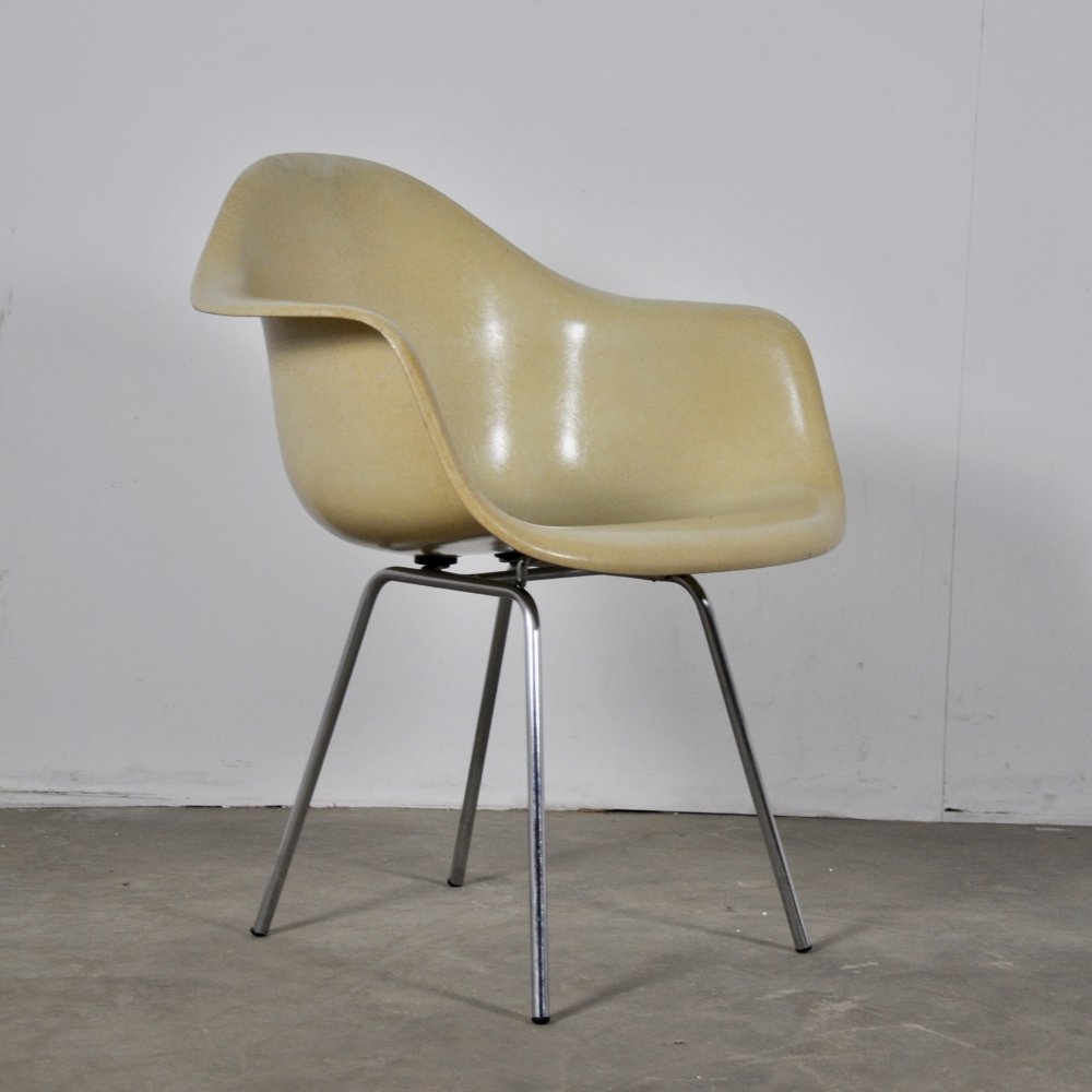 Set of 6 DAX Dining Chairs by Charles & Ray Eames for Herman Miller, 1960s