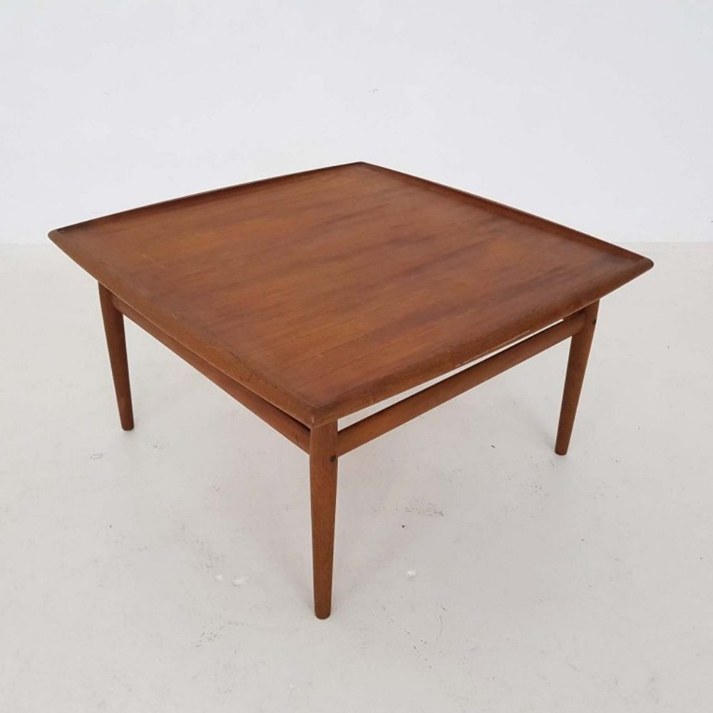Coffee table by Grete Jalk for France & Son, 1960s