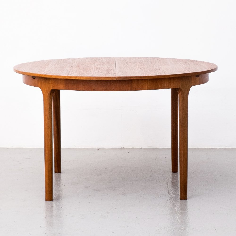Extendable dining table by A.H. Mcintosh & Co