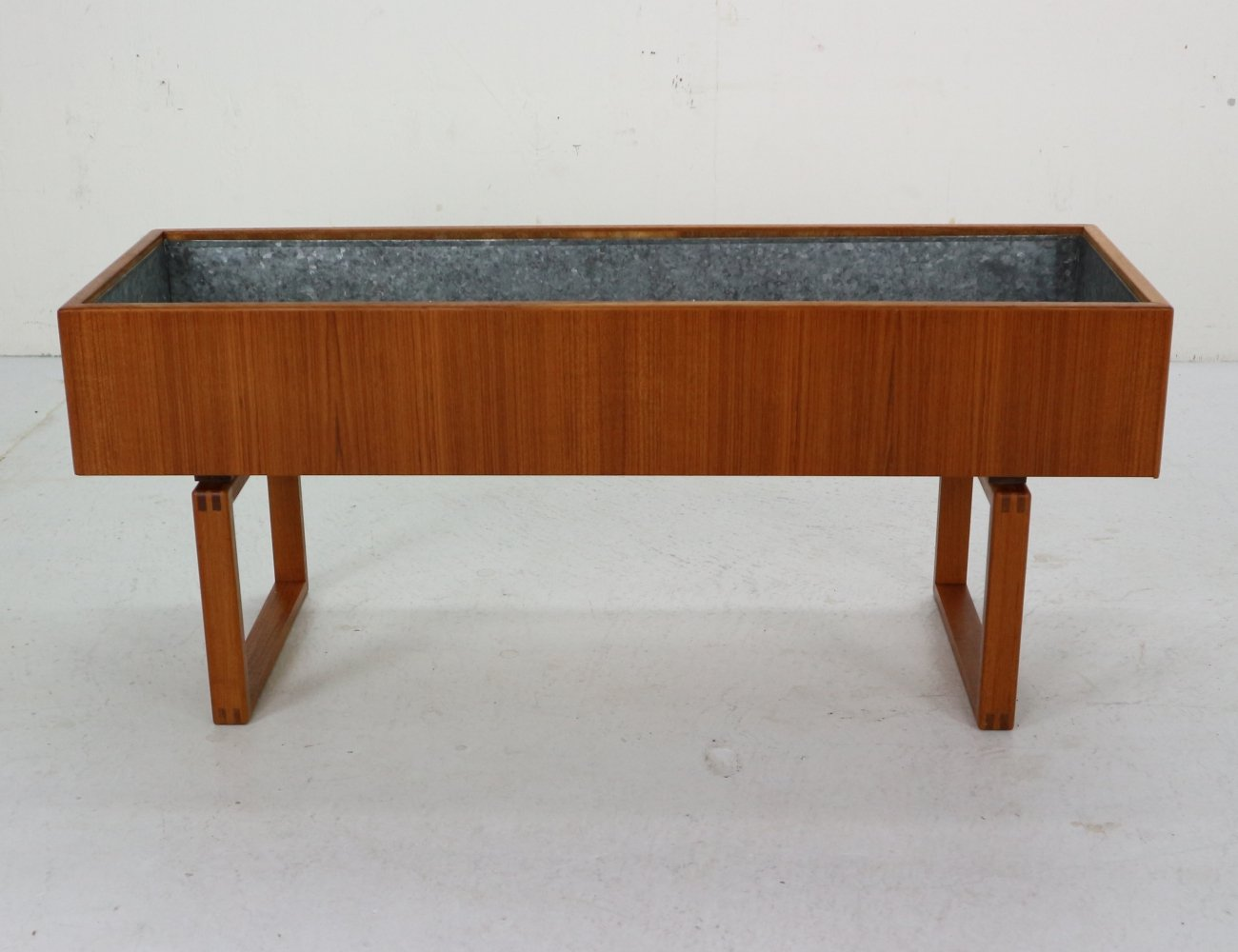 Scandinavian Modern Teak Planter by Kai Kristiansen for Salin Mobler, 1960