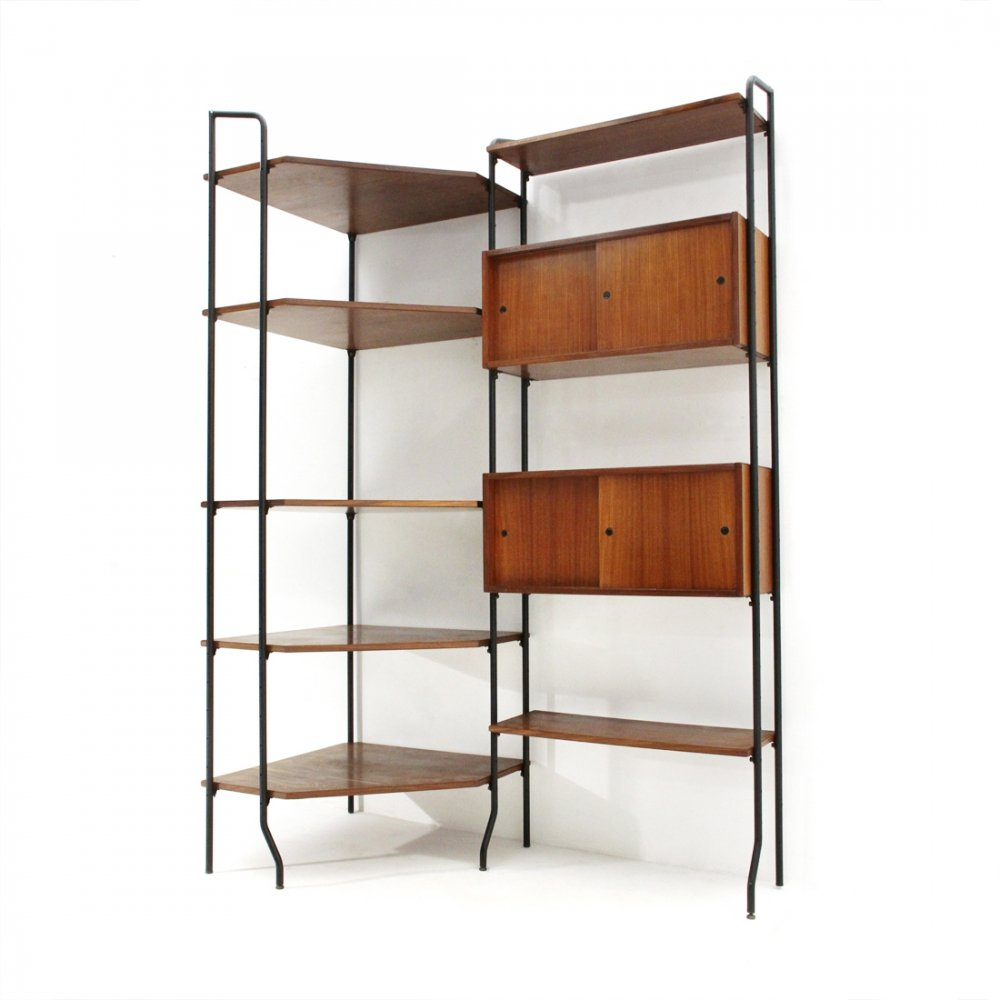 Model Aedes wall unit with corner by Amma, 1950s