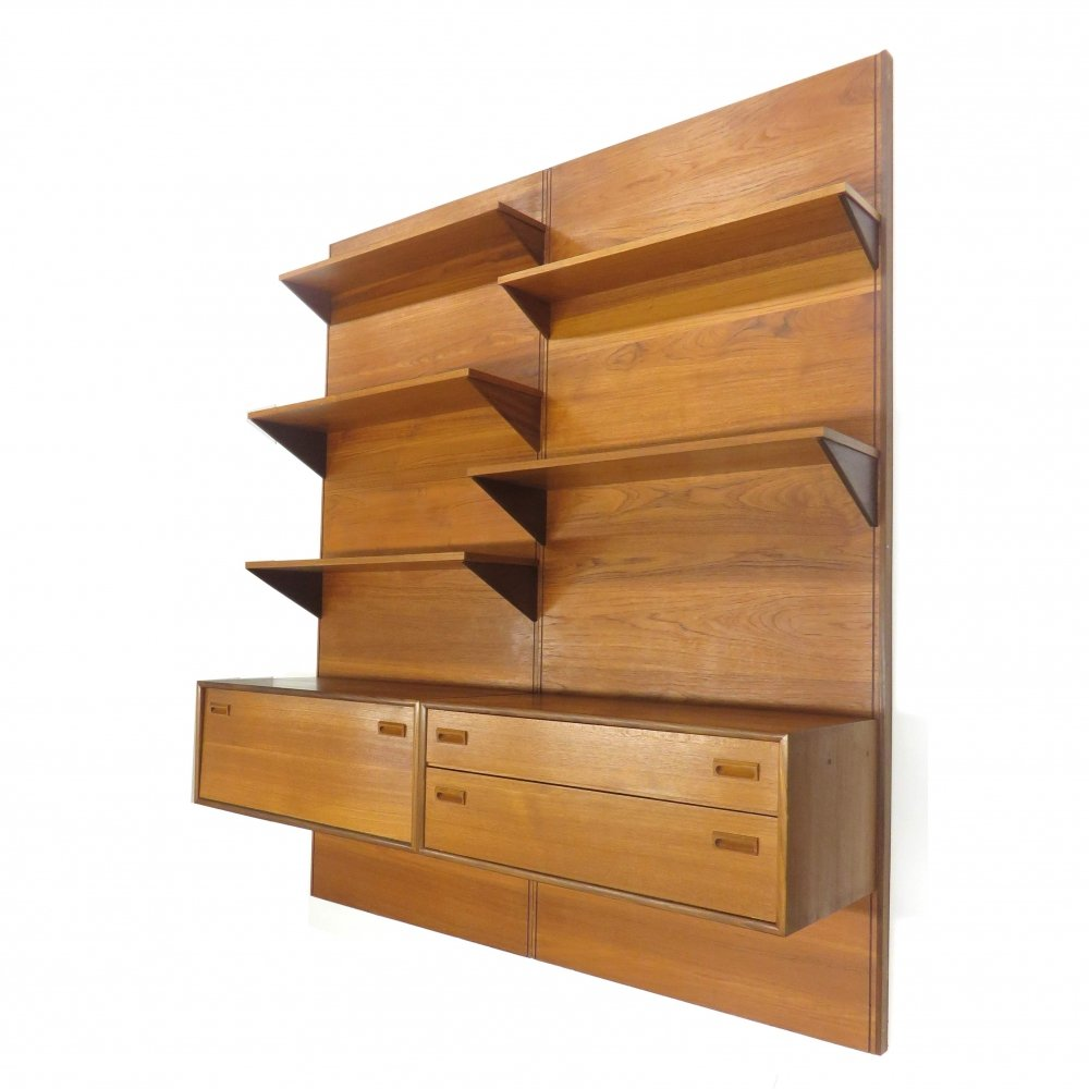 Mid century wall unit, 1960s