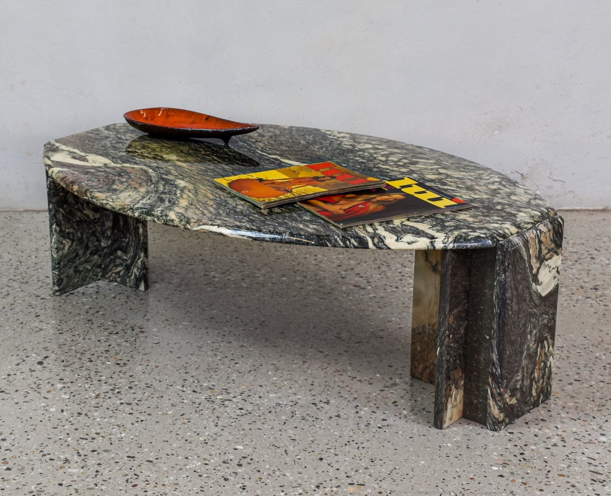 Italian Marble Coffee Table, 1970s