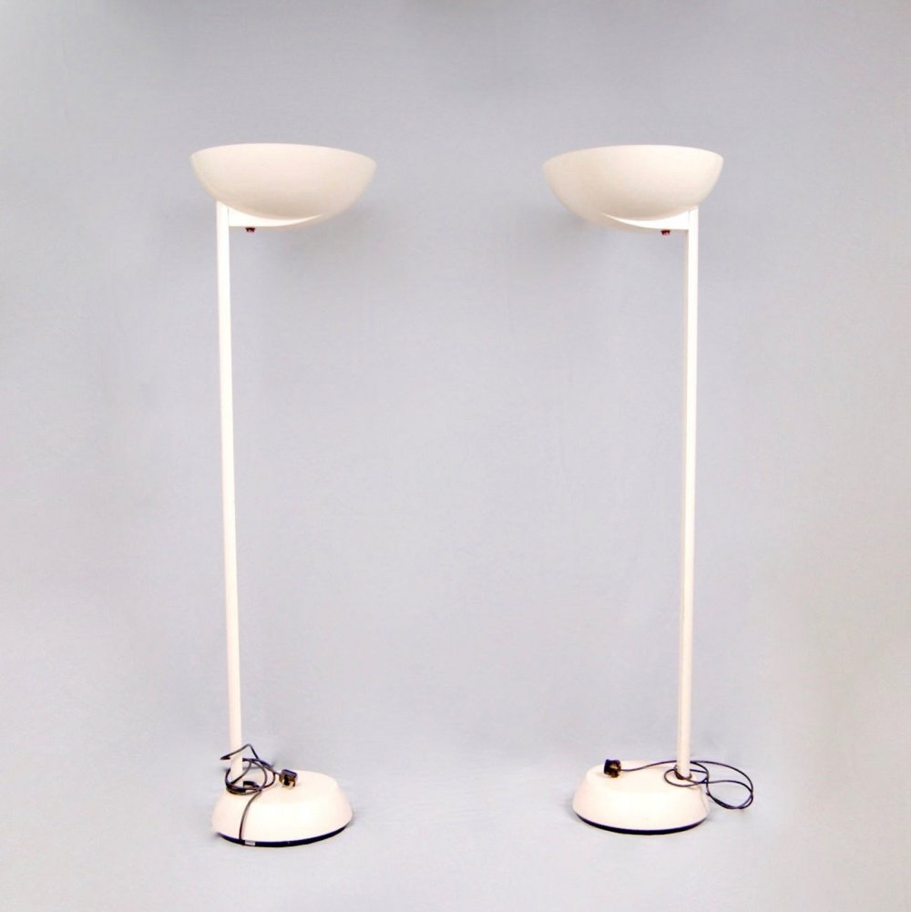 Pair of Tall Floor Lamps by Thorn Lighting GB, 1960s