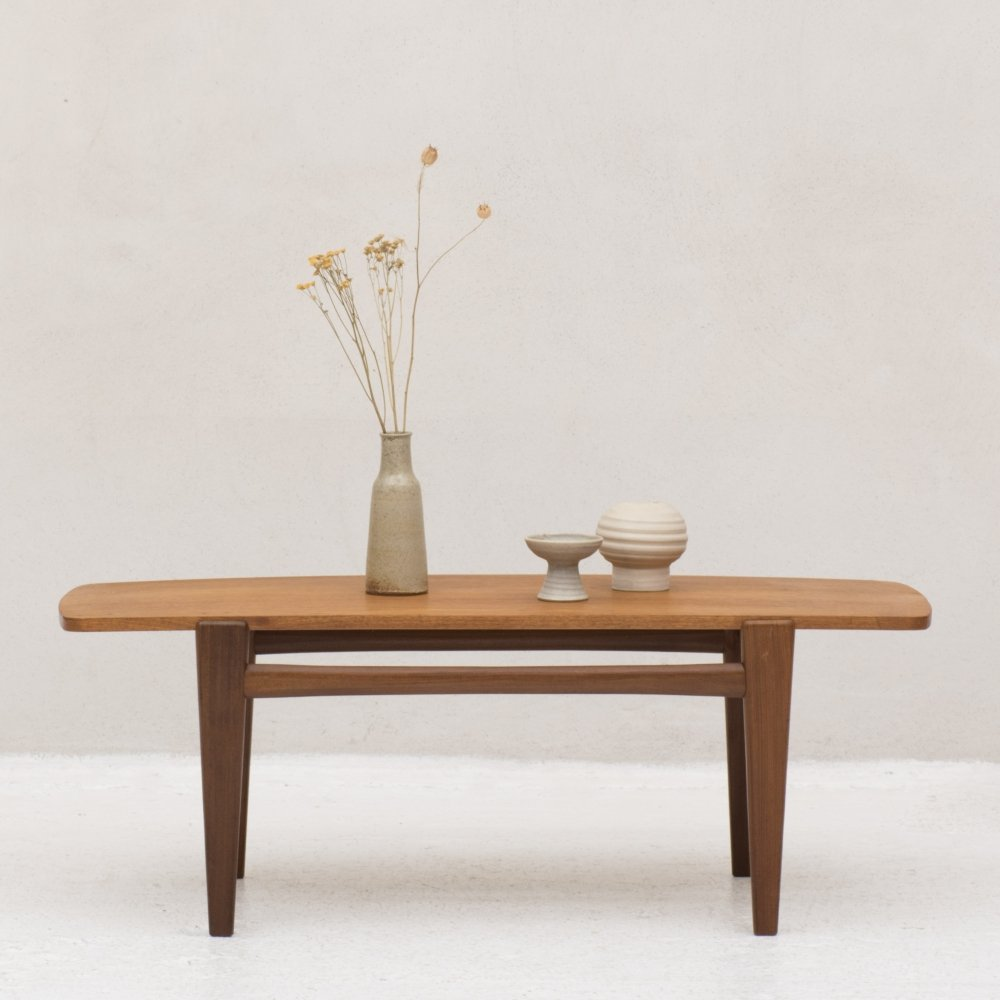 Coffee table with reversible top, Danish design 1960