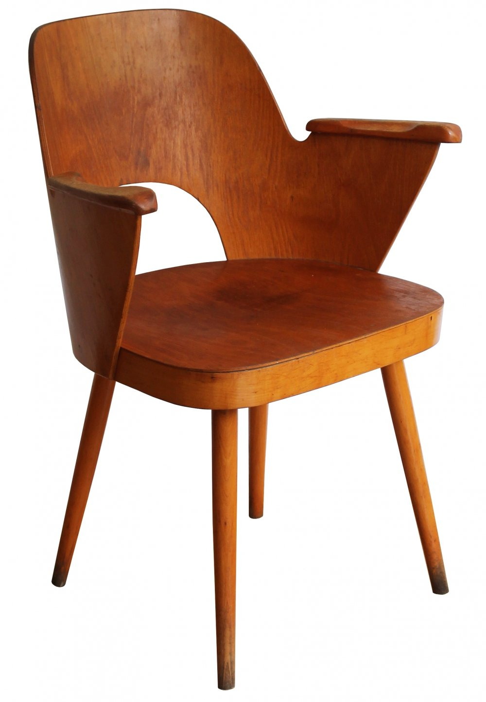 Mid Century Dining chair n.1515 by Oswald Haerdtl for TON Company