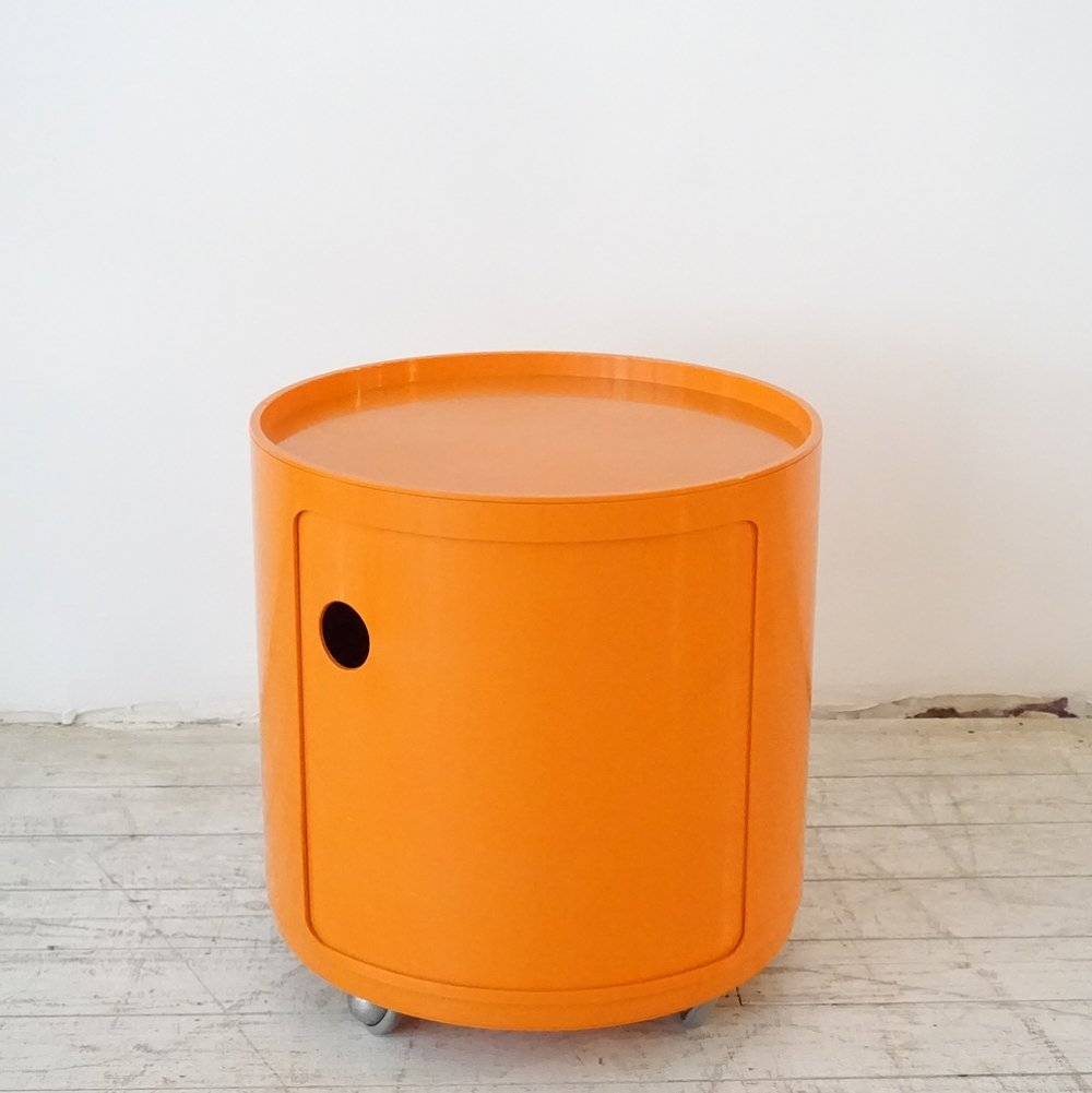 Componibili serving trolley by Anna Castelli Ferrieri for Kartell, 1970s