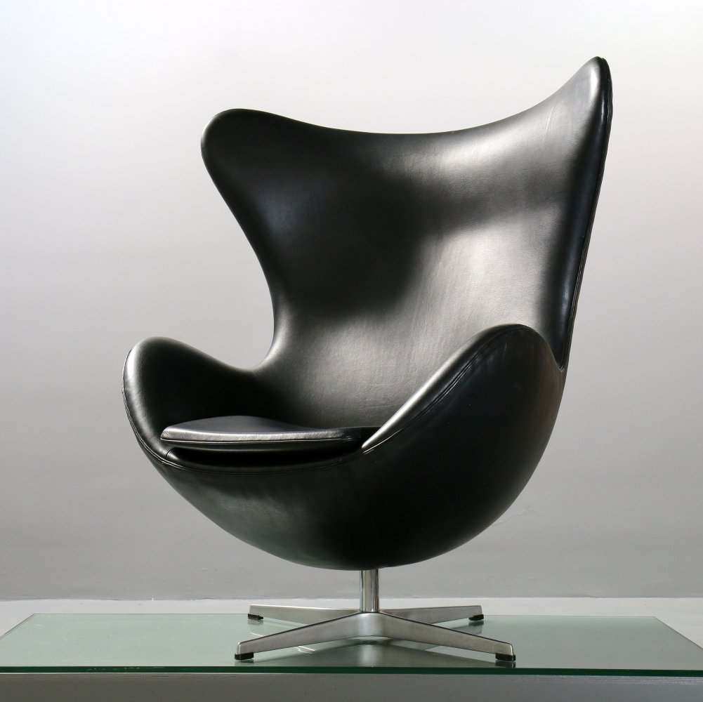Arne Jacobsen Egg Chair 3316 for Fritz Hansen, 1980s