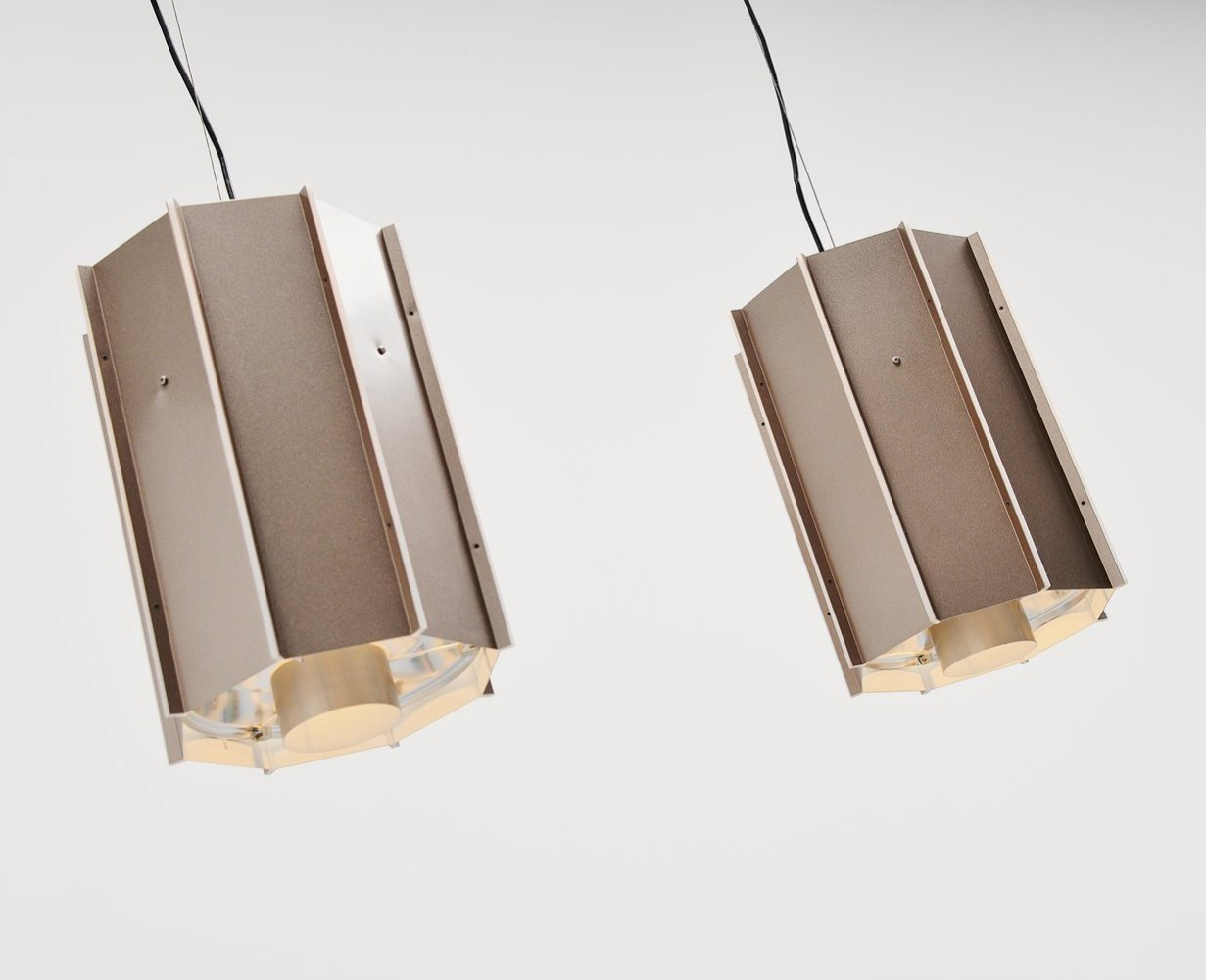 Raak Amsterdam industrial pendant lamps, The Netherlands 1970s
