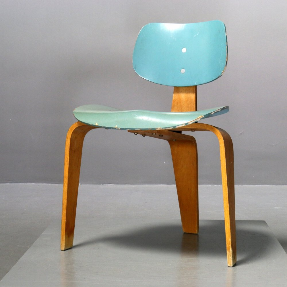 Chair S 3/ SE 42 by Egon Eiermann for Spieth Holztechnik, 1950s