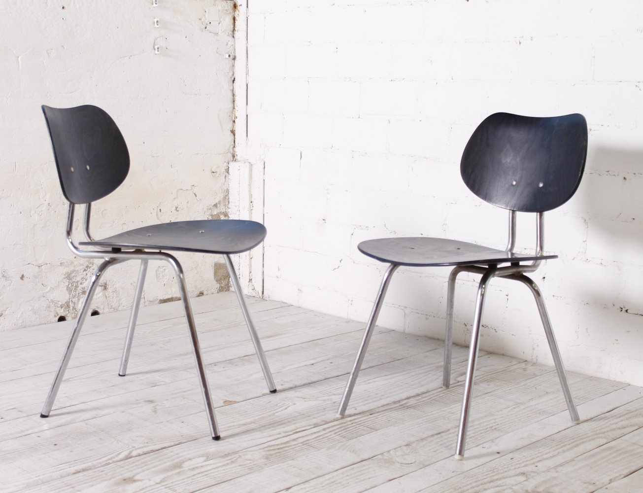 Rare TF 05 Chairs by Kurt Felkel for Thonet, 1950s