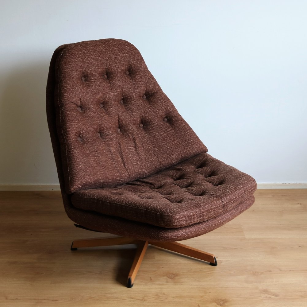 MS68 lounge chair by Aksel Bender Madsen & Hans Thyge Schubell for Bovenkamp, 1970s