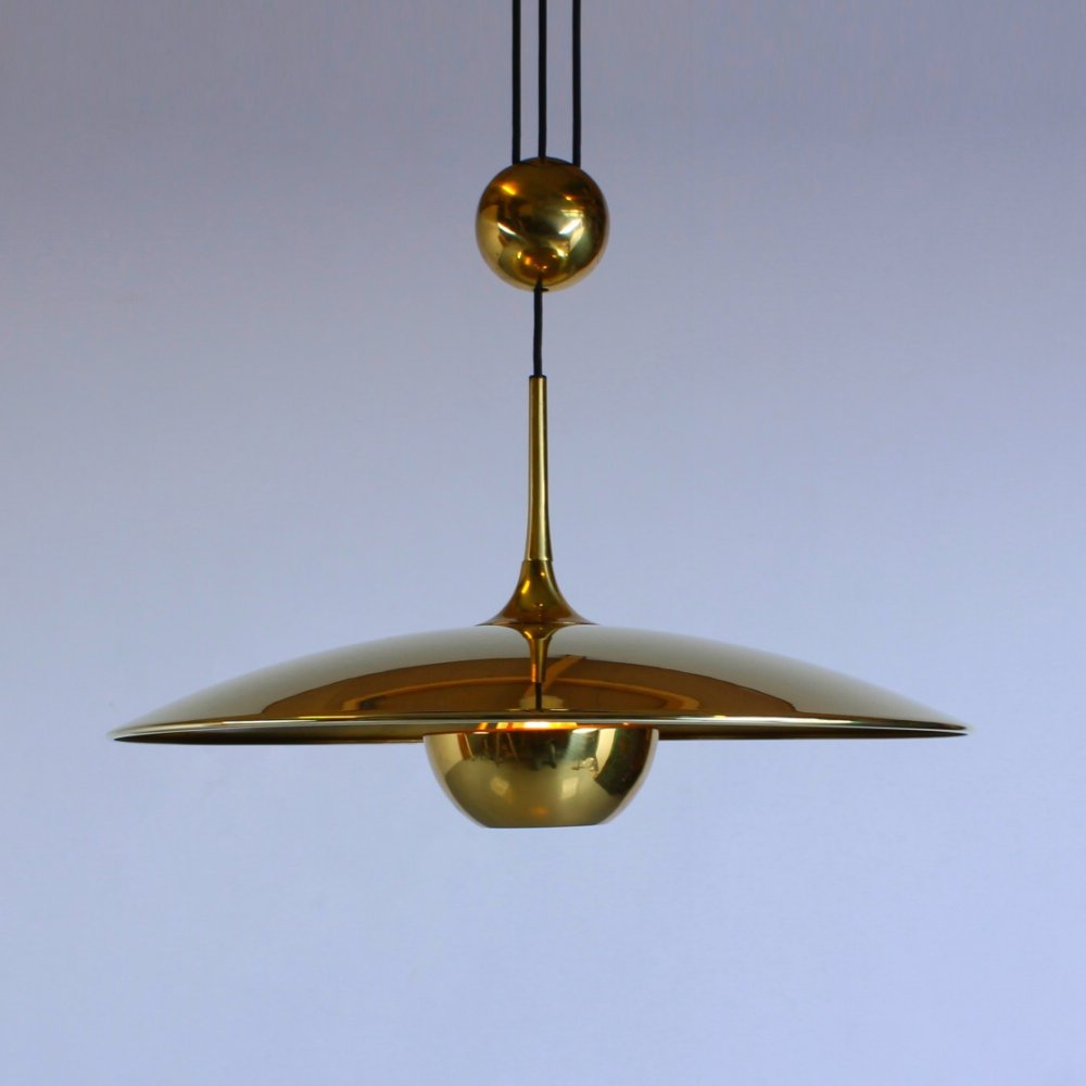 Onos 55 hanging lamp by Florian Schulz, 1970s