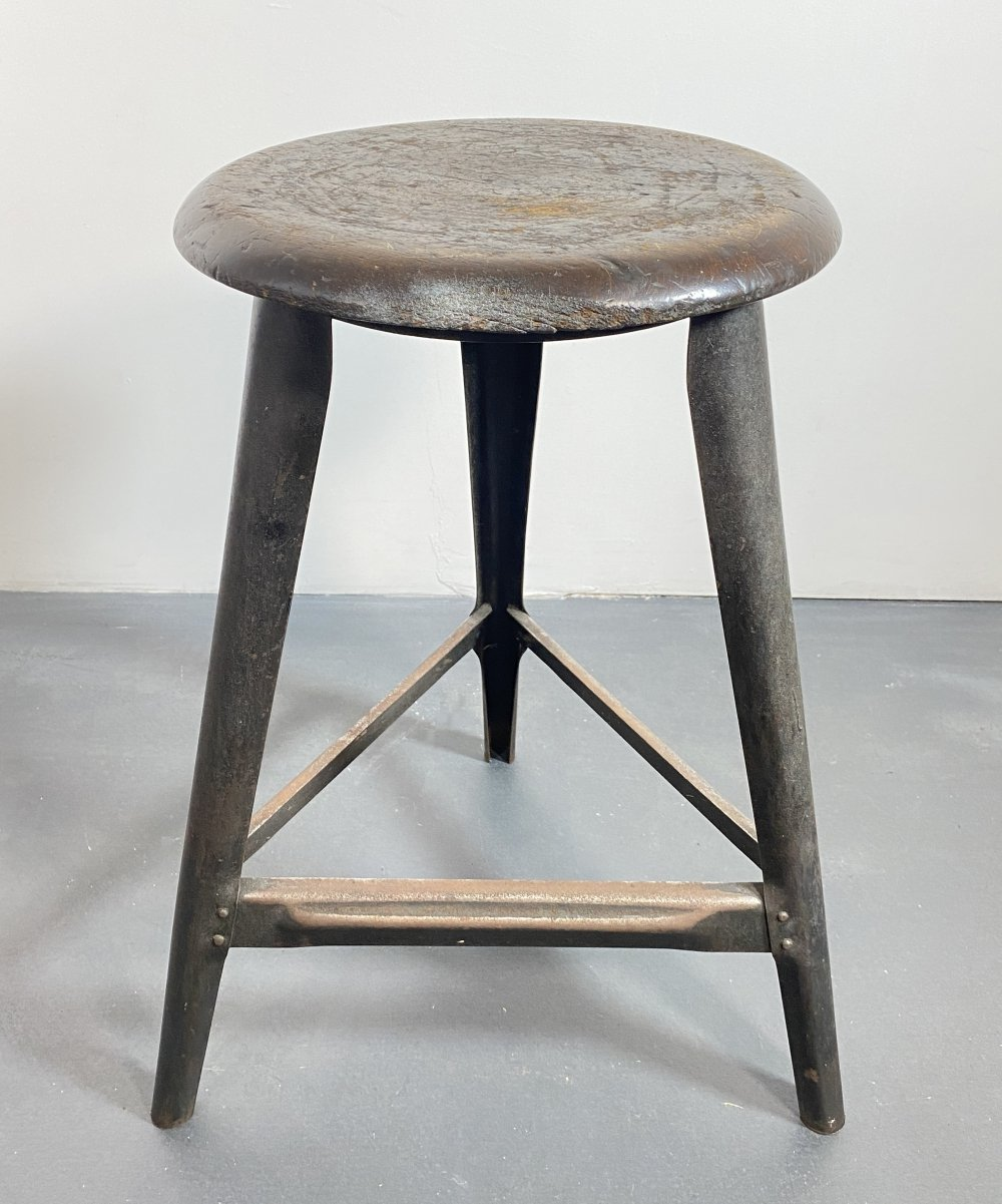 Three-legged Workshop Stool, Germany 1930s