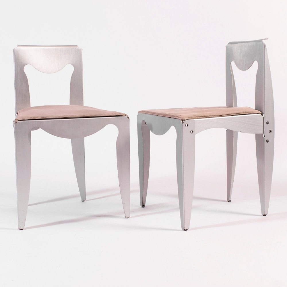Pair of Liberta Chairs by Afra & Tobia Scarpa for Meritalia, 1989