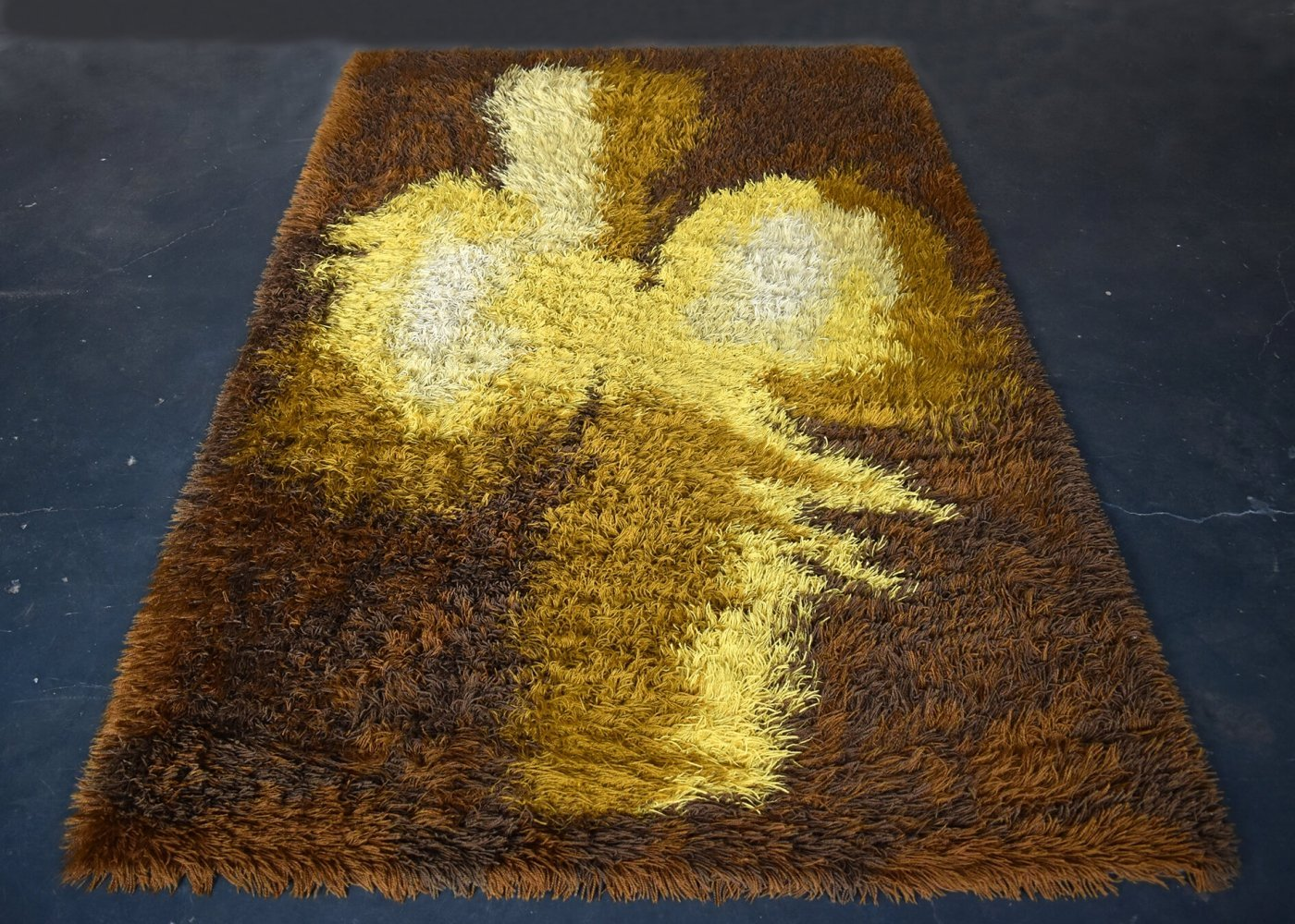 Large Vintage Abstract Carpet, 1960s