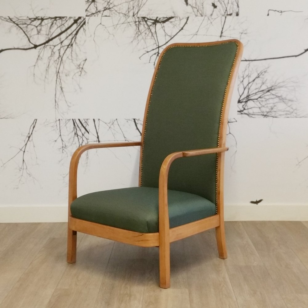 Bentwood Lounge Chair from Thonet, 1930s