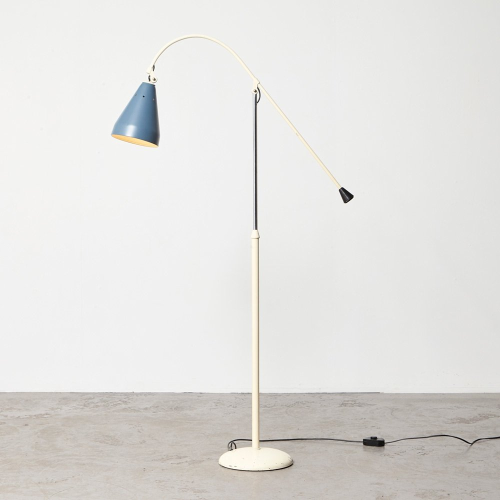 Wim Rietveld Floor Lamp model 6332 for Gispen, 1955