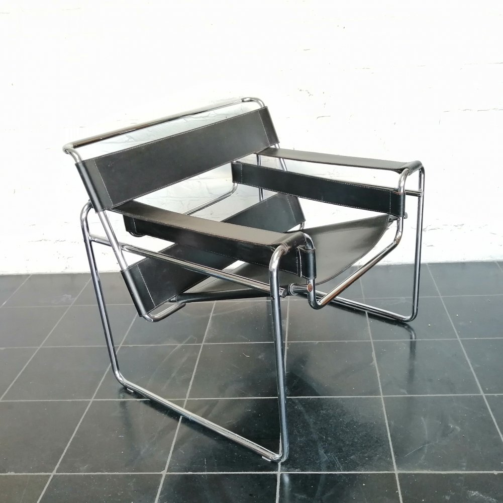 B3 Wassily chair by Marcel Breuer for Gavina, 1970s