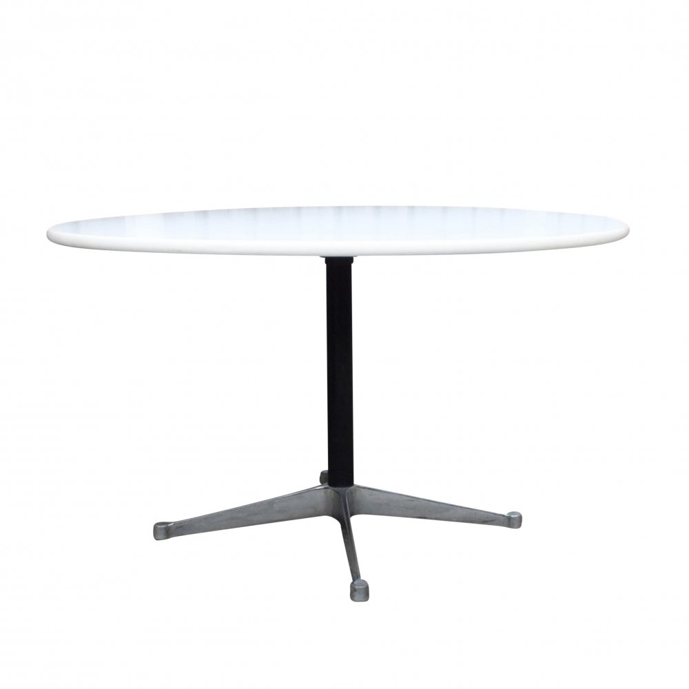 Round dining table by George Nelson for Herman Miller, USA 1970s