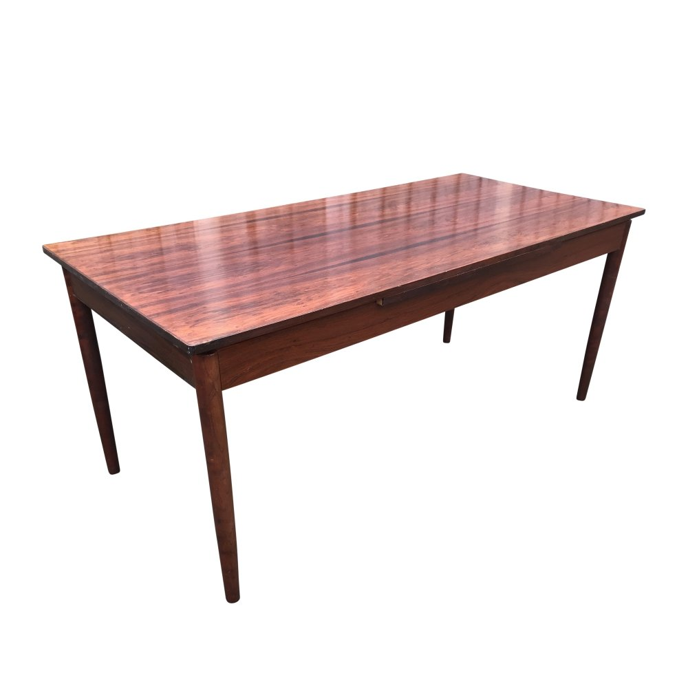 Model 12 extendable palissander table by Niels Otto Moller for J.L. Moller, 1960s