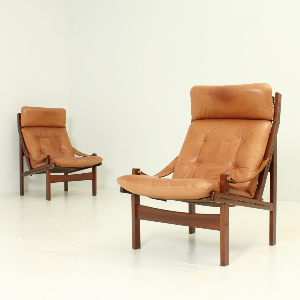 Pair of Hunter Lounge Chairs by Torbjørn Afdal