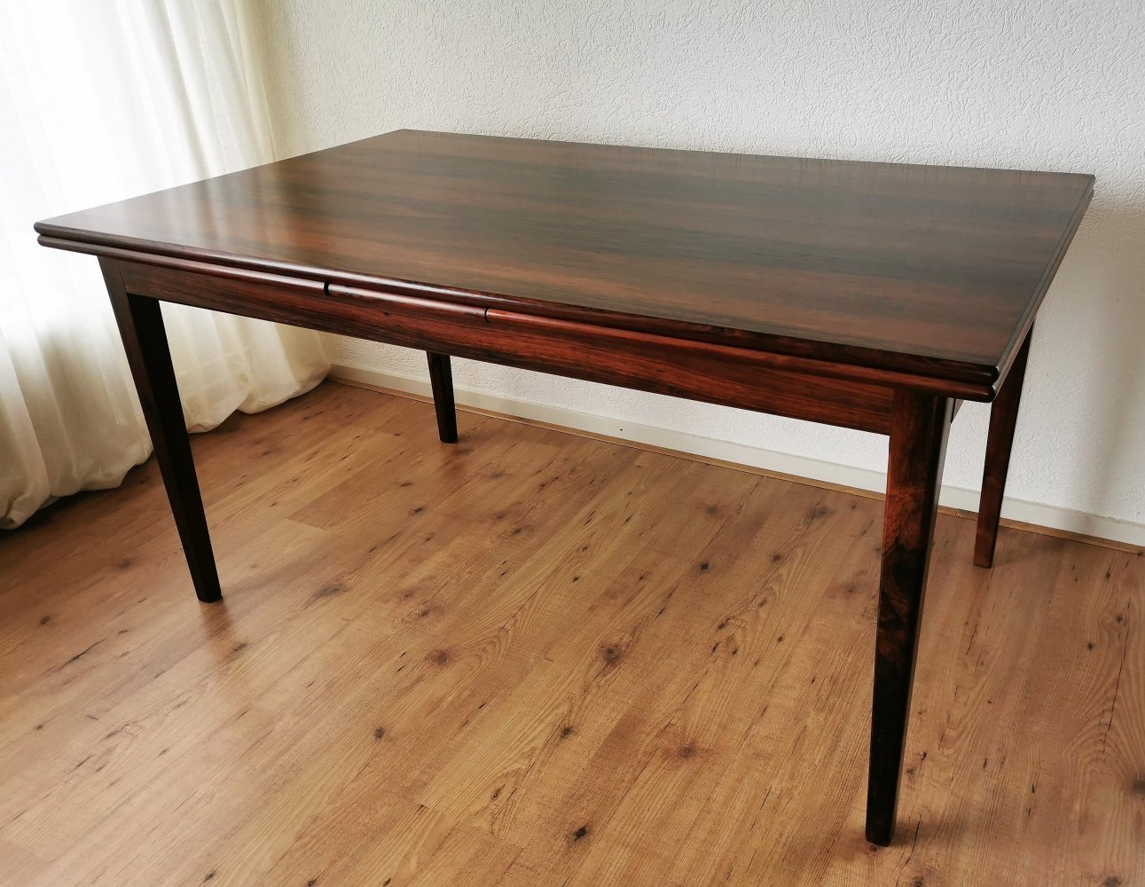 Danish Rosewood Extendable Dining Table