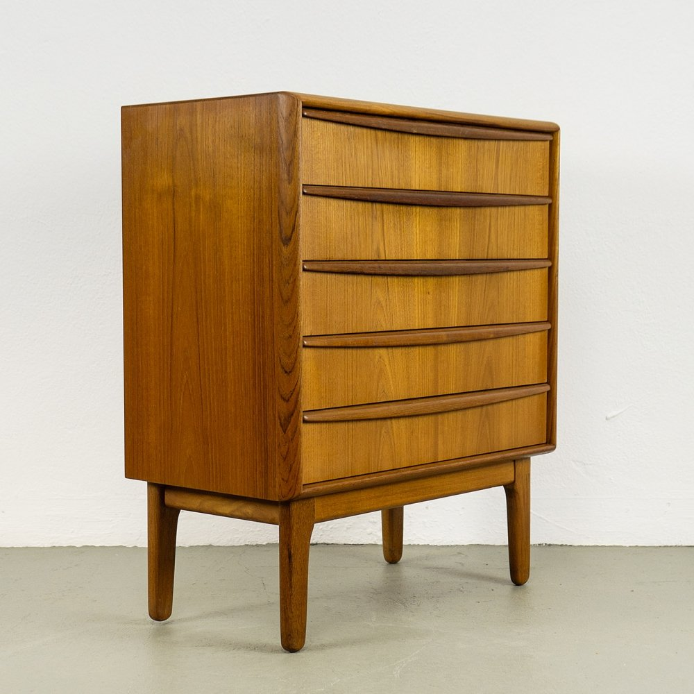 Teak Chest of Drawers by Svend Aage Madsen, 1960s
