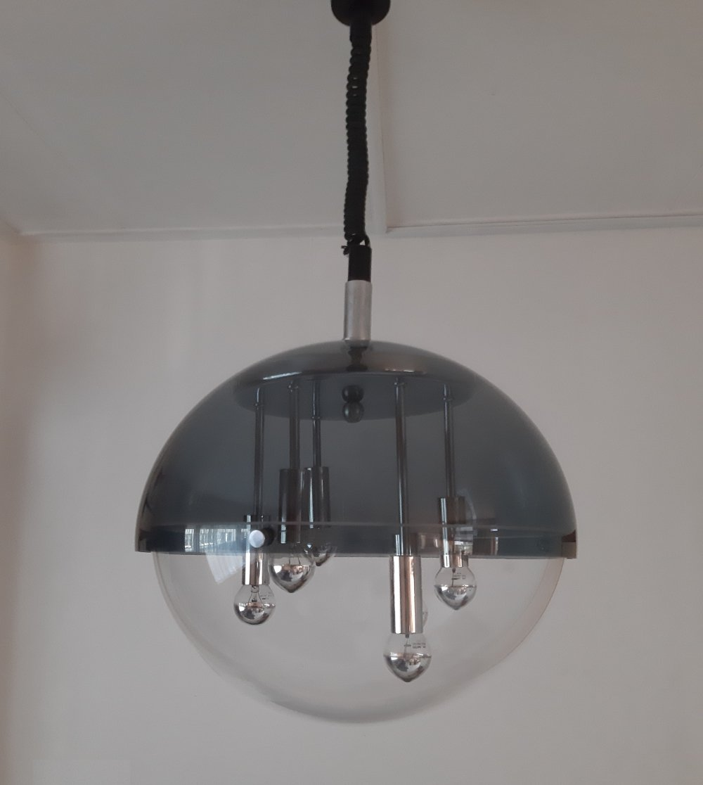 Space Age hanging lamp