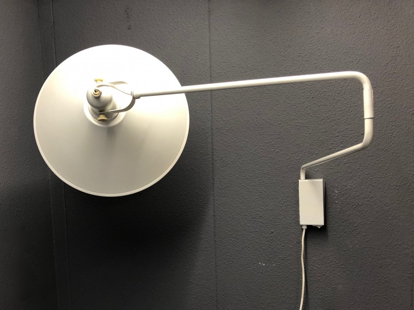 Wall lamp by J. Hoogervorst for Anvia Almelo, 1970s