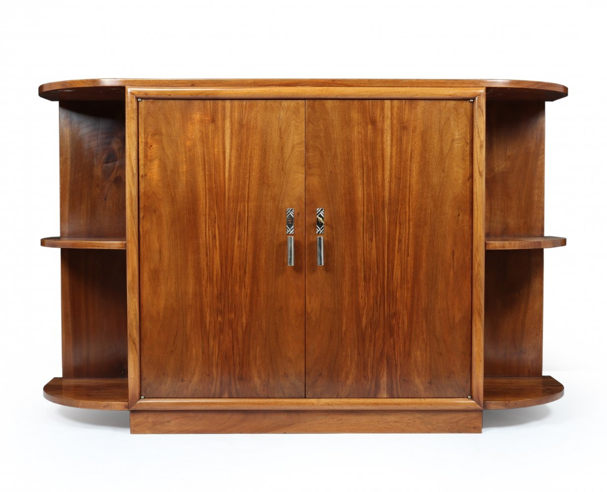 French Art Deco Walnut Sideboard, c1930