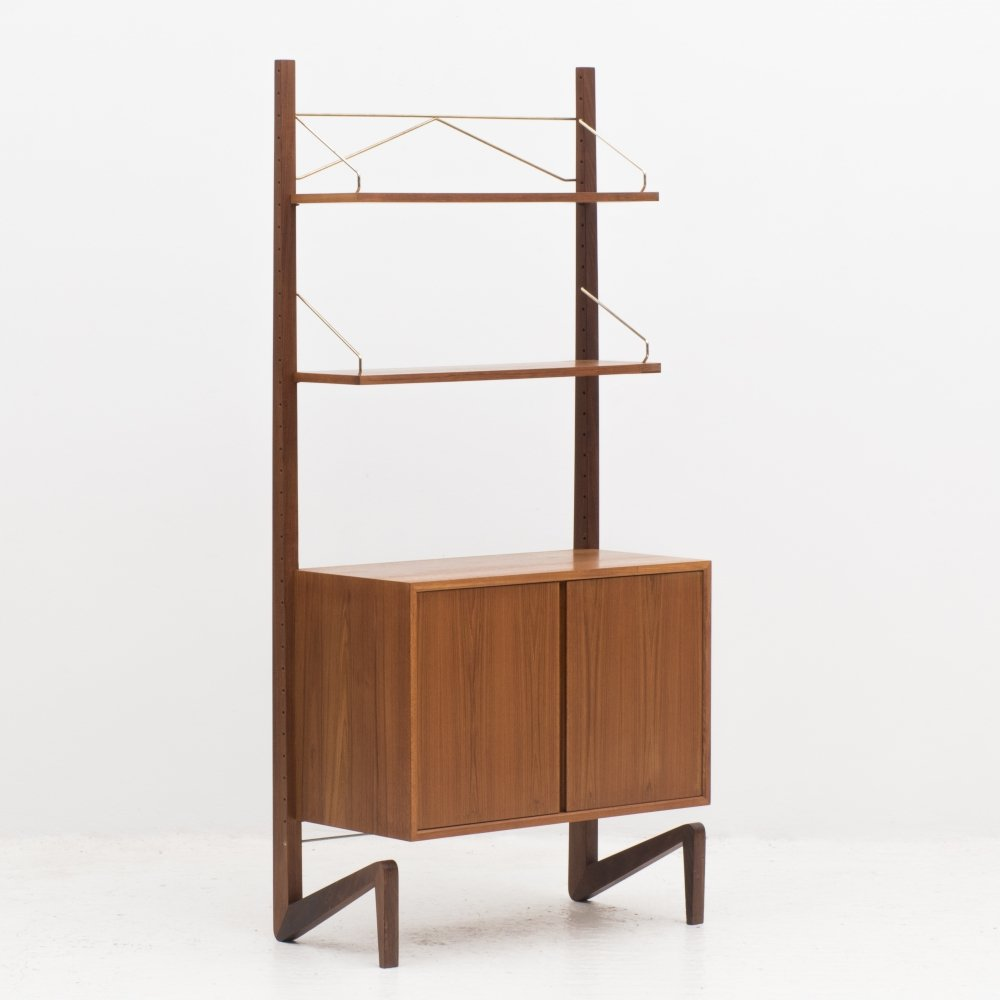 Standing wall unit by Poul Cadovius, Denmark 1960