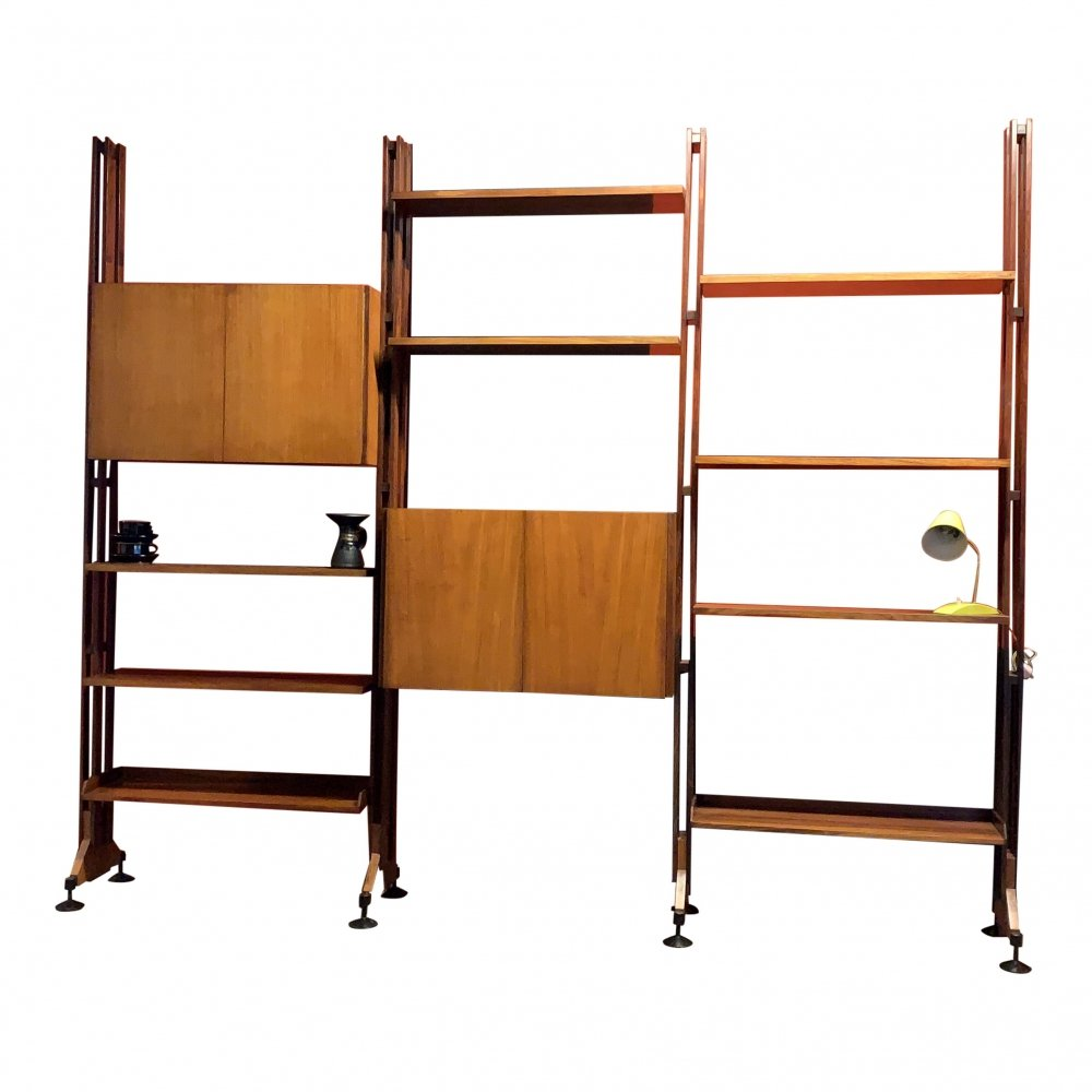 LB10 wall unit by Franco Albini for Poggi, 1950s