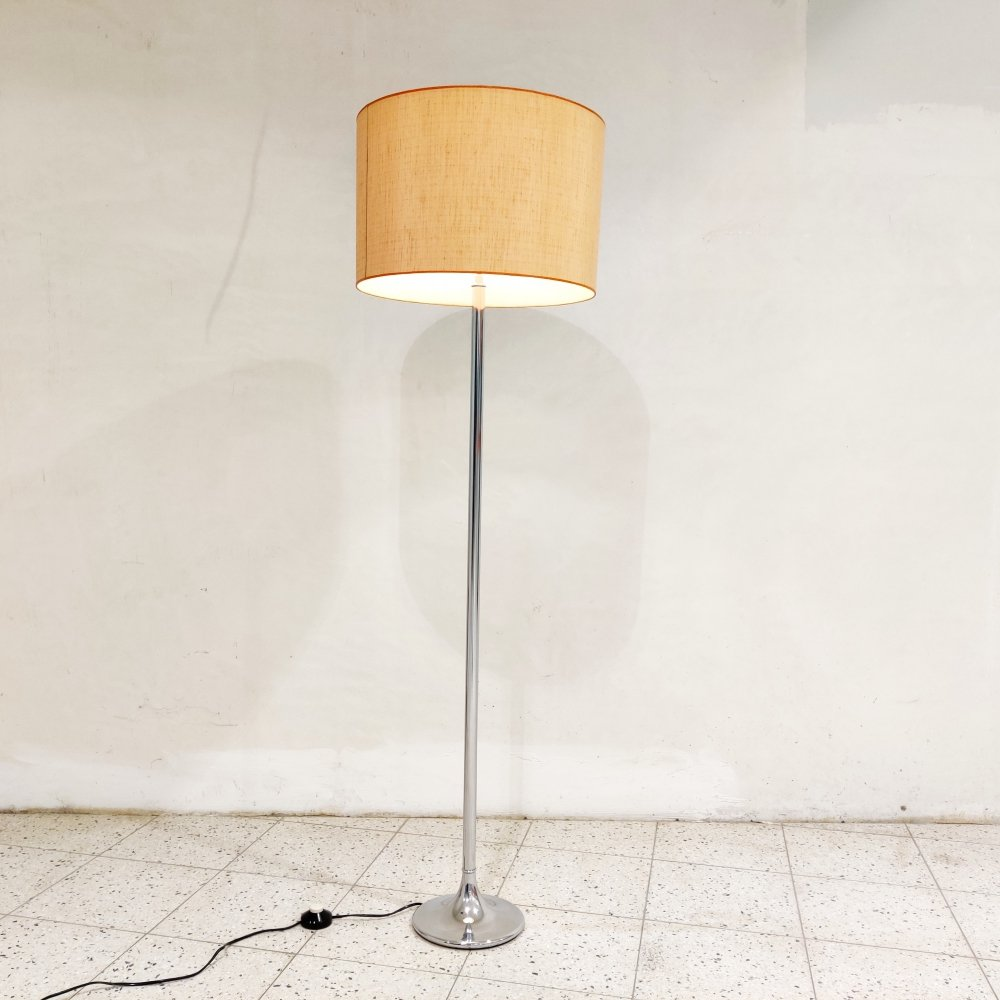 Vintage chrome floor lamp, 1970s