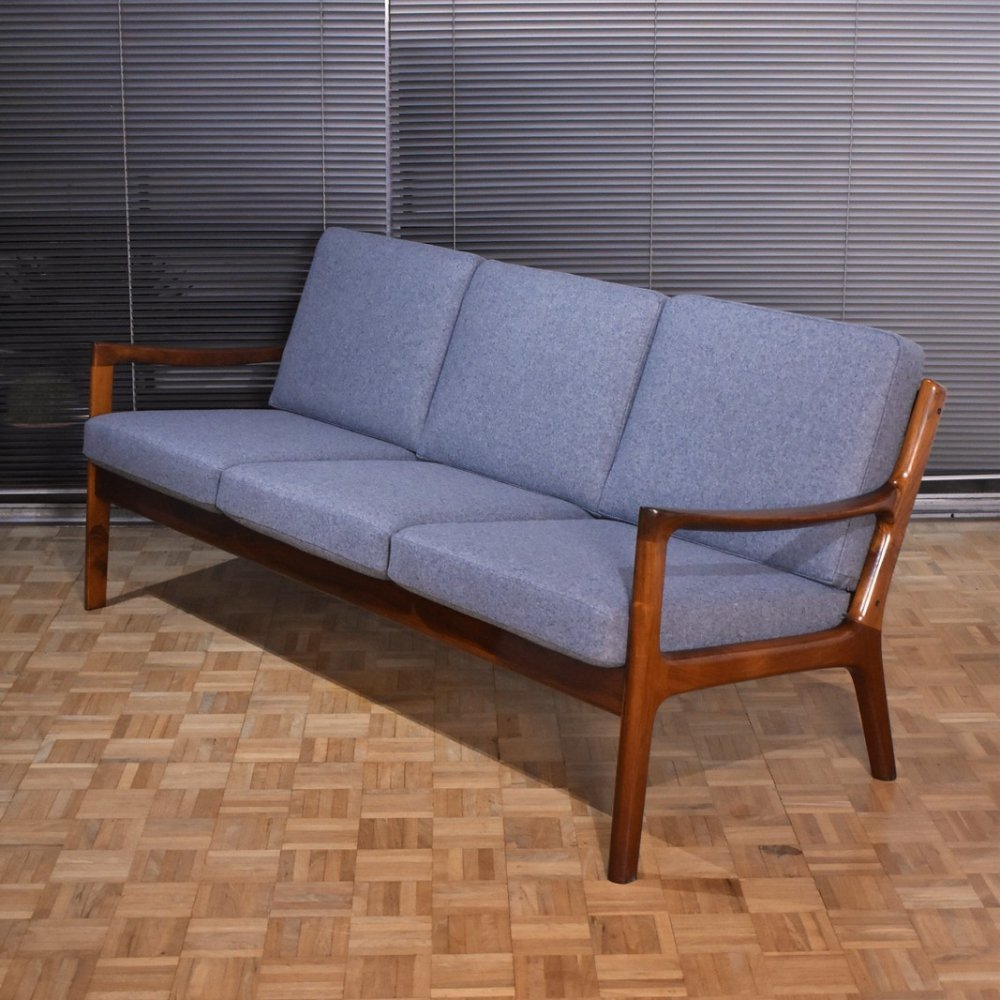 Rare Rosewood Model 166/3 sofa by Ole Wanscher for France & Son, 1960s