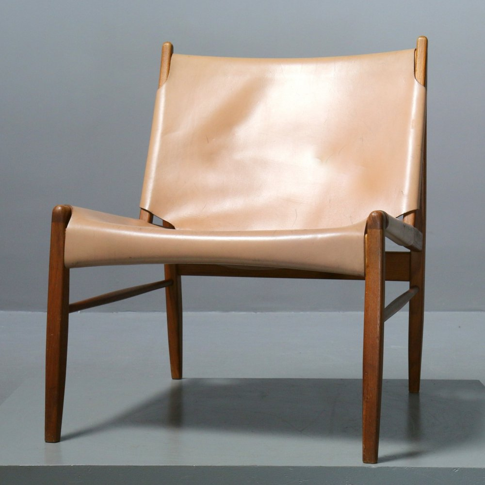 Chimney Chair by Franz Xaver Lutz for WK Verband, Germany 1958