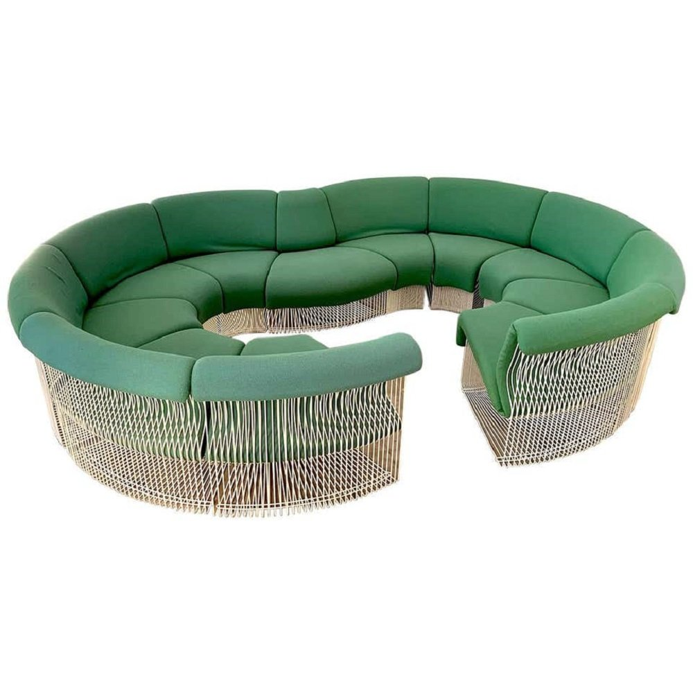 Pantonova Sofa Set By Verner Panton For