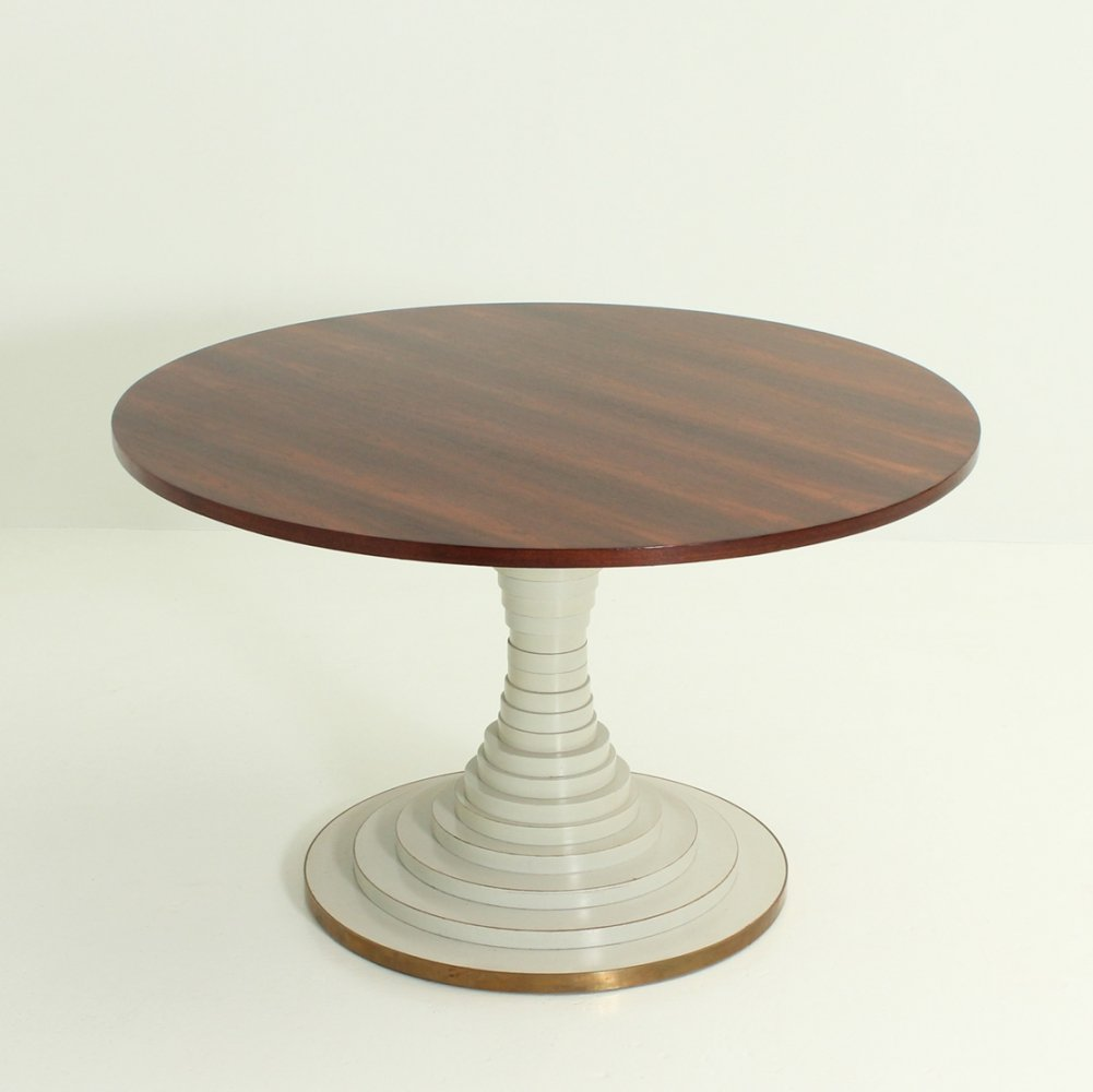 Dining Table in Rosewood by Carlo de Carli, 1960s