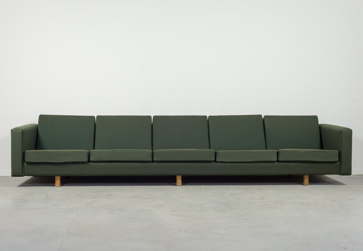 Mid-Century Hans Wegner five seats sofa model GE300 by Getama