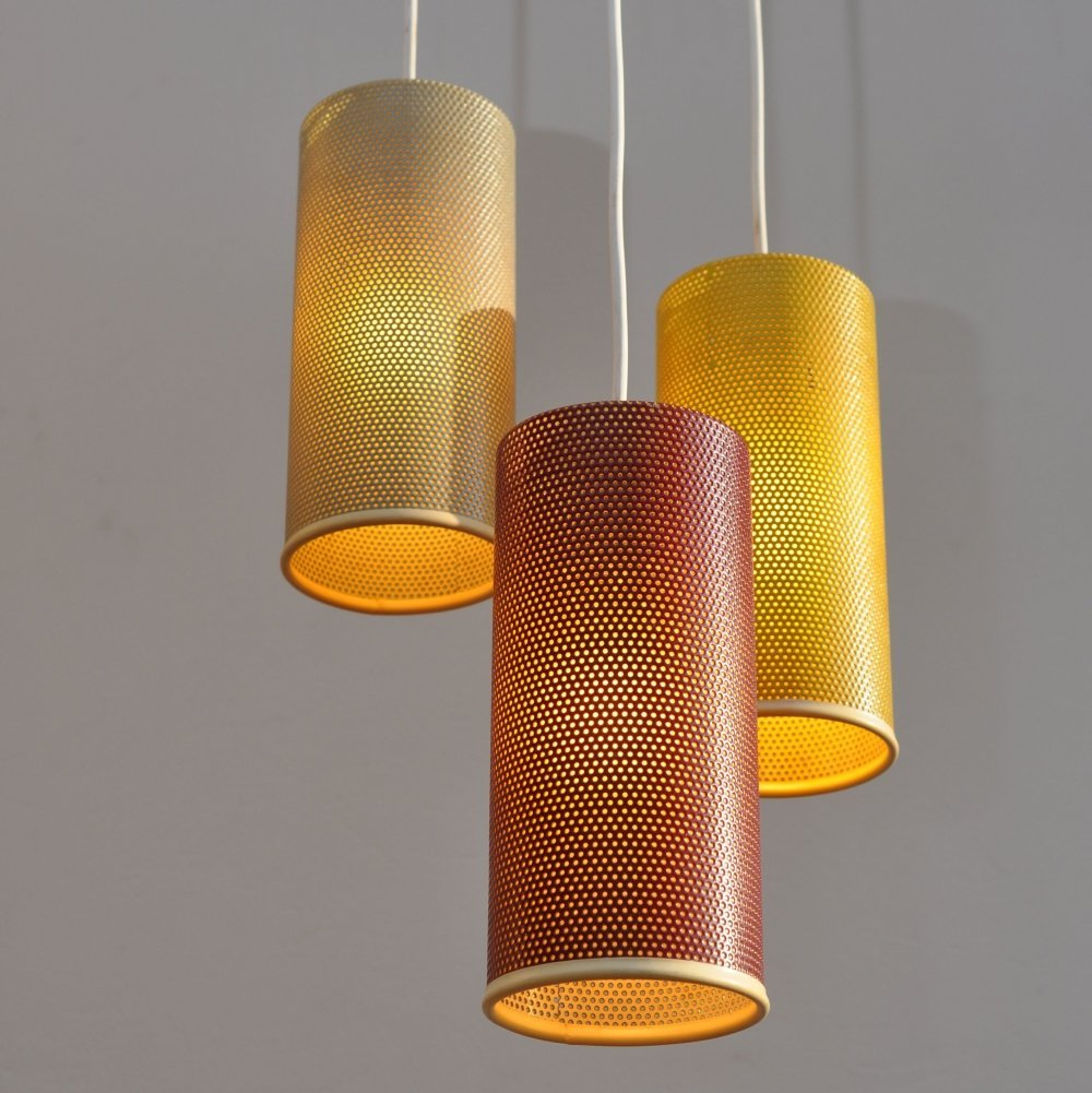Hanging lamp by Niek Hiemstra for Hiemstra Evolux, 1960s