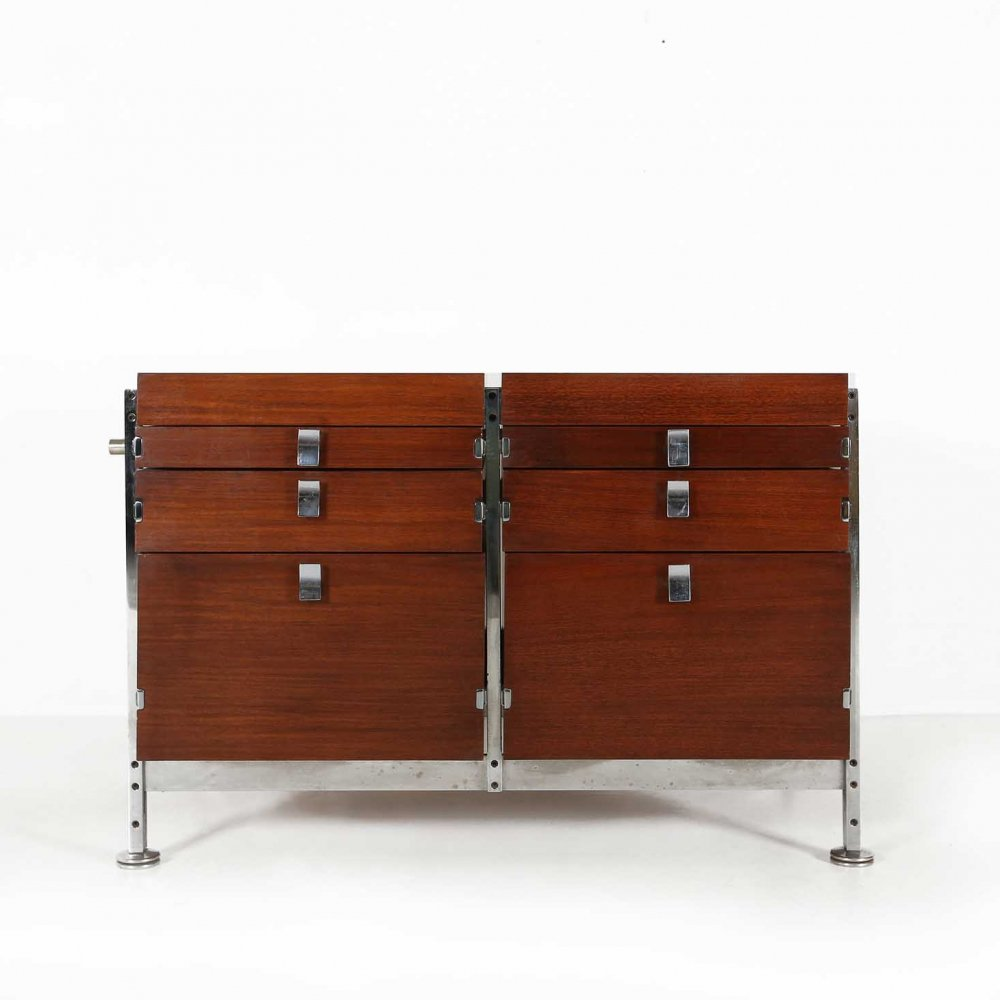 Chest of drawers by Jules Wabbes for Mobilier Universel, 1960s